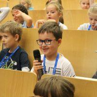 Pierwszy wykład w Warszawie